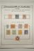 Page 8, 1901 Victoria - 'Postage' series ½d, 5d cancelled to order; 1d, 1½d, 2d, 2½d, 3d, 4d, 6d, 1/-, 2/-, 5/- mint, 6090