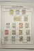 Page 94, 1913-1950 Kangaroo and Map - Types of cancellations (x17), 6162