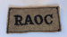 Shoulder title; 1939 - 1945; 2001.079.07