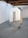 Simona Brinkmann, Life Sized, 2005, MDF, mirrored acrylic; Simona Brinkmann