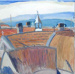 Rooftops, Oamaru; Joanna Margaret Paul; c. 2000; JMP 14