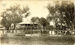 Mungindi police Quarters taken from the Bridge during flood; 1921; PM1281d