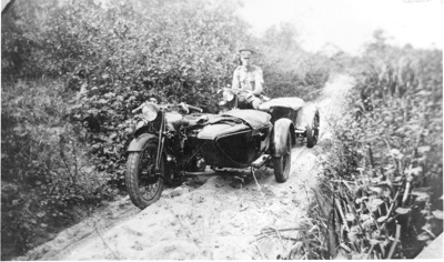 Constable Harold Sjostedt, Main Roads Police; 1933; PM0702