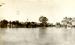 Mungindi Main Street during flood; 1921; PM1281c