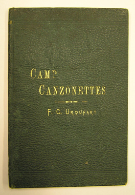 Camp Cazonettes; Frederick Charles Urquhart; c1883; QP84
