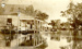 Fergusons store Main Street at Mungindi during flood; 1921; PM1281a