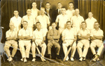 17 members of the Police cricket team; 1930; PM0666