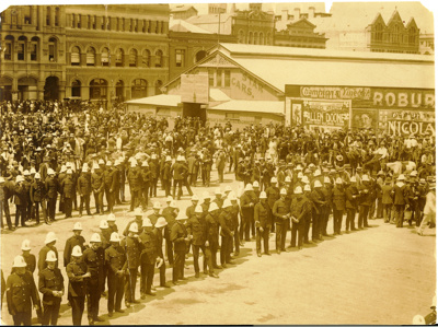 1912 general strike or Tram Strike; 1912; PM1001a
