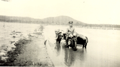 Constable Harold Sjostedt, Main Roads Police; 1933; PM0699