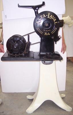 Cream Separator - Base No.4; Alfa-Laval; C 1920; 2010.1.45 A