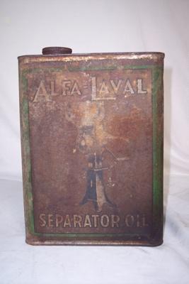 Oil Tin; Alfa-laval; 2010.1.80
