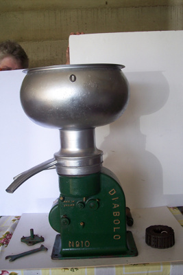 Cream Separator - Base; Diabolo; 1878; 2010.1.31 A