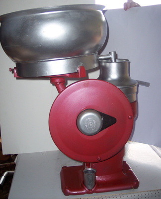 Cream Separator - Base; R A Lister & Co; C 1930; 2010.1.25 A
