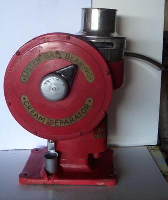 Cream Separator - Base; R A Lister & Co; C 1930; 2010.1.28 A
