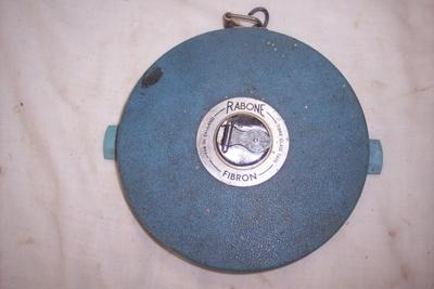 100 feet tape measure; John Rabone & Sons; c1960; 2010.2.478