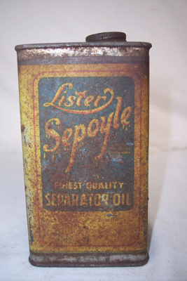 Oil Tin; Lister; 2010.1.83