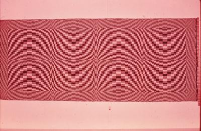 Wallhanging 1975, using overshot technique; Duks, Lilija; 1126011
