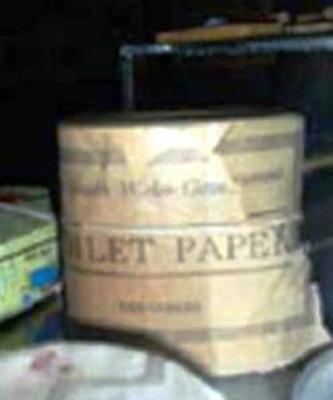 Toilet paper roll; QS2007.18