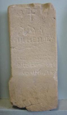 "Headstone ""Unknown""; QS2007.35"