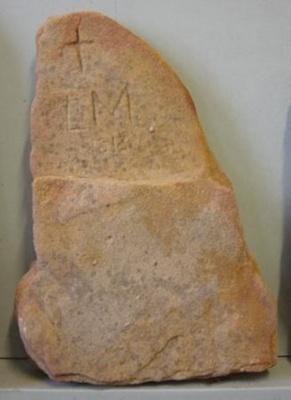 "Headstone ""LM""; 1813; QS2007.32"