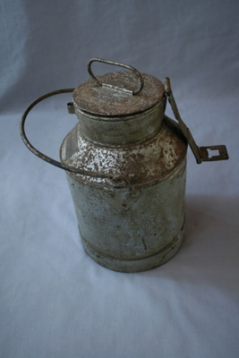 Milk Can, used by H. Baker, Summer Hill, made by T. Swainson, Dulwich Hill, Sydney