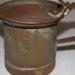 "Milk Vendors' Measure, ""Sunrise"", pint, made by Malleys Ltd., Sydney, used by Fresh Food and Ice Co.; Malleys Ltd.; c.1900-50; 2006- 9 b"