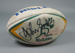 Rugby union match ball, 1998; Summit; Circa 1998; 1998.3395.1