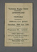 Rugby union match program, Victoria v Queensland, 1950; Chandler Press; 1950; M2962