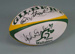 Rugby union match ball, unused, 1997; Gilbert; Circa 1997; 2006.5186