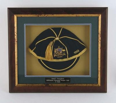 Australia rugby union international honours cap, Geoff Vaughan; Unknown; Circa 2006; M16001
