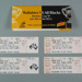 Rugby union ticket folder and tickets, 1997; Unknown; 1997; M16088