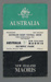 Rugby union match program, Australia v Maoris, 1958; Unknown; 1958; 2008.233.3