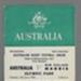 Rugby union match program, Australia v Maoris, 1958; Unknown; 1958; 2008.233.3