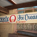 Sign, Street's Ice Cream Shop Sign, painted wood, used by the Street's Ice Cream Co. Ltd., Corrimal