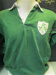 Ireland Rugby Jersey 1970s, worn by Mike Gibson; 1970s; 2011/302