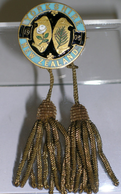 Pin Badge, Yorkshire v New Zealand, 1905; 1905; 2001/176