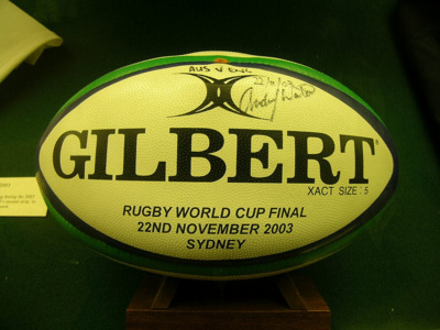 2003 World Cup Final Ball; Gilbert; 2003; 2005/237