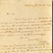 Letter from William Webb Ellis to unknown recipient; William Webb Ellis; 29/6/1829; 2006/299