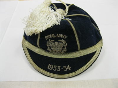 Rugby Cap - Royal Navy; 1953-1954; 2001/104