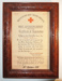 Red Cross certificate of registration; 1939; T69