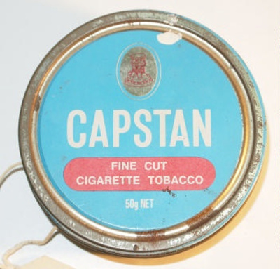 Capstan tobacco tin; 85150