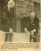 Newspaper Clipping, Elmhurst Historical Museum Dedication Ceremony; 1975; M2017.1.13