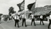 Photograph, Flag Day & Du Page County Centennial Parade color guard; Herzberg Family; 18 June 1939; M92.29.2