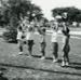 Photograph, Elmhurst Park District ballet class; circa 1967; M2014.1.475