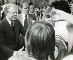 Photograph, President Jimmy Carter; Press Publications; May 1978; M2012.37.1