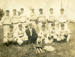 Postcard, Elmhurst baseball team; circa 1908; M2014.1.250