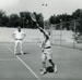 Photograph, Elmhurst Park District tennis lesson; 1966; M2014.1.473