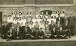 Photograph, Elmhurst High School, Student Body; 1912; M2016.1.290