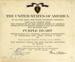 Certificate, Purple Heart, Richard Fellows; 1944; M69.5.1