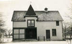 Photograph, Marquardt carriage house; circa 1905; P77.9.2